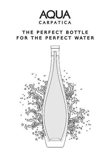 AQUA CARPATICA THE PERFECT BOTTLE FOR THE PERFECT WATER