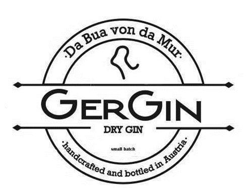 GERGIN - Da Bua von da Mur - handcrafted and bottled in Austria - DRY GIN - small batch