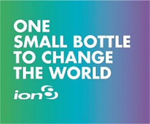 ION8 ONE SMALL BOTTLE TO CHANGE THE WORLD