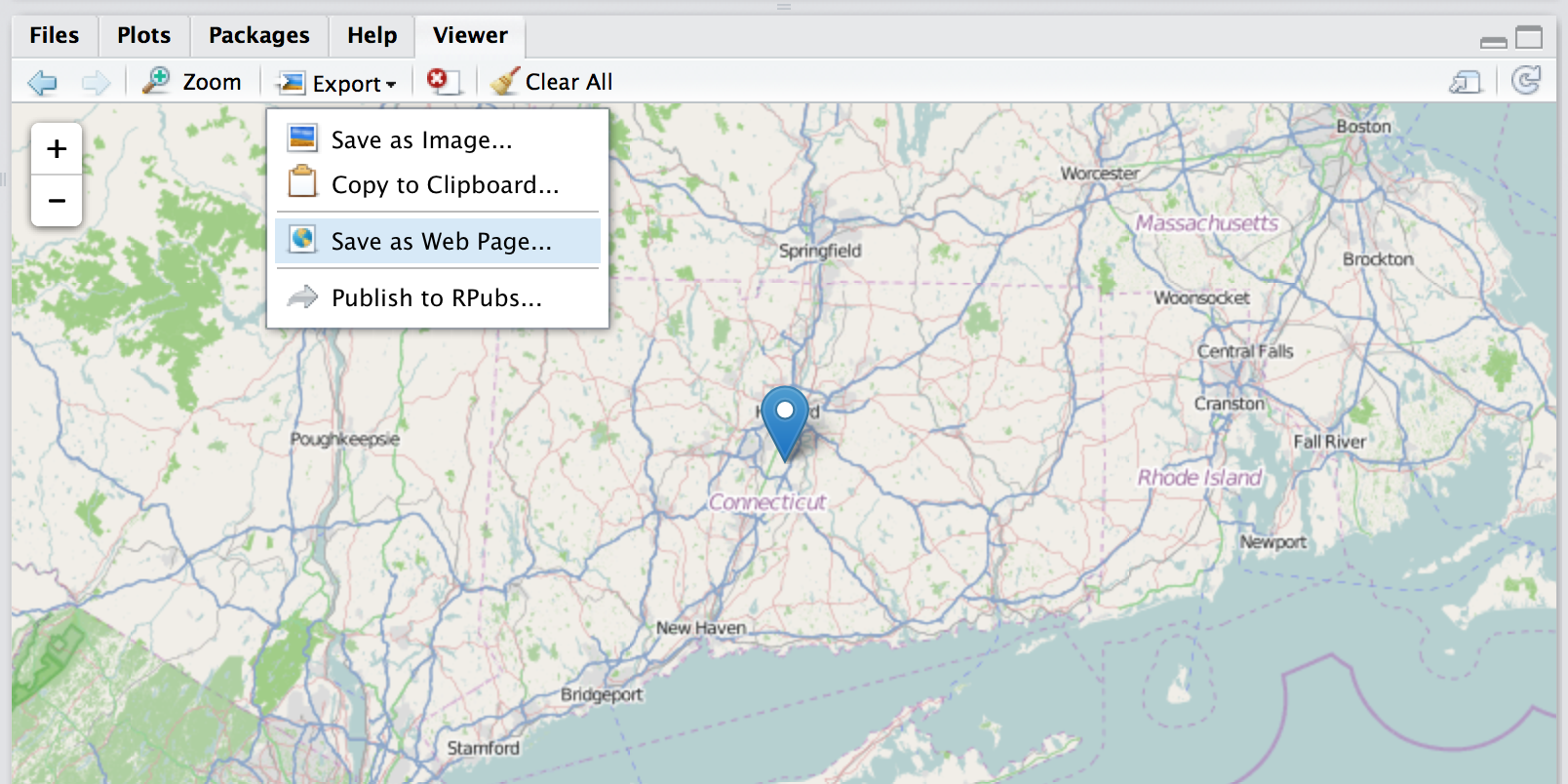 Tutorial: How to put dots on a Leaflet map with R   TrendCT