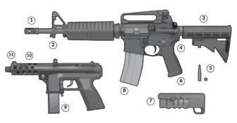 Graphic: What parts make an assault weapon?