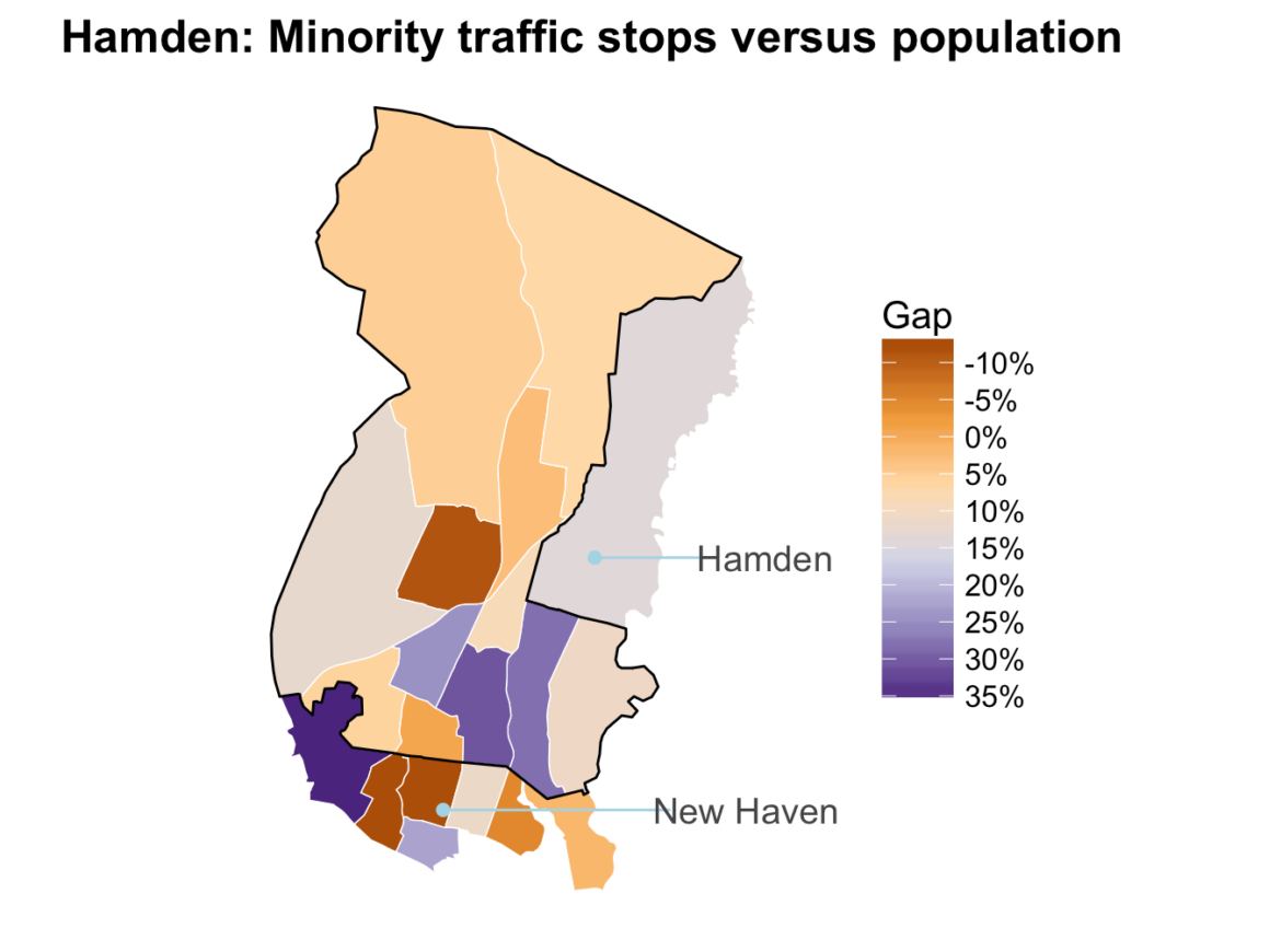 Tutorial: Spatial analysis of census and traffic stop data
