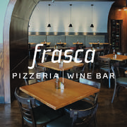 Server at Frasca Pizzeria & Wine Bar