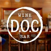 Server at D. O. C Wine Bar