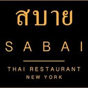 Sabai Thai Restaurant  hiring Food Runner in New York, NY