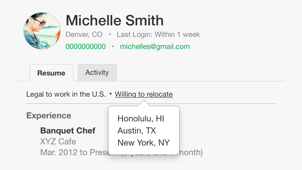 "Exclusive Feature: ""Willing to Relocate"" for Candidate Matching"