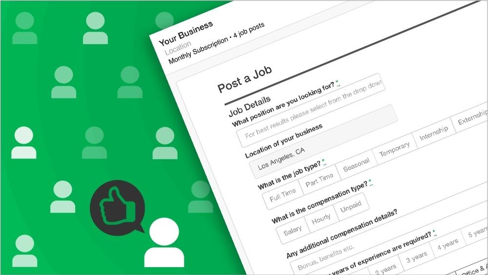 Getting Started: Job Posting Checklist