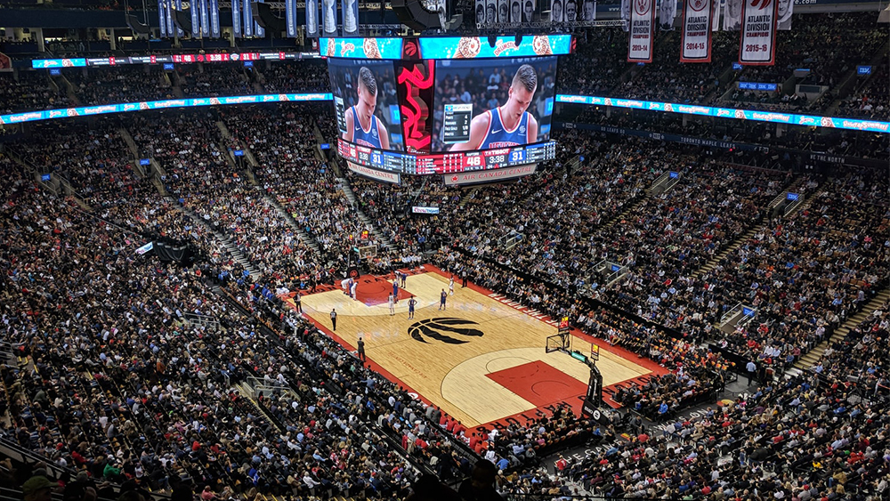 Hospitality Careers at National Basketball Association Arenas