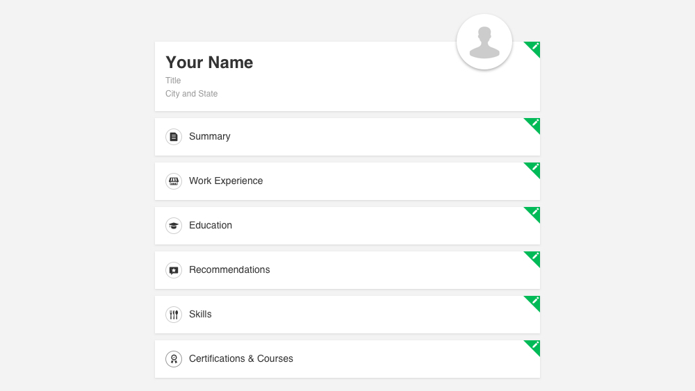 Getting Started: Your Personal Profile Checklist