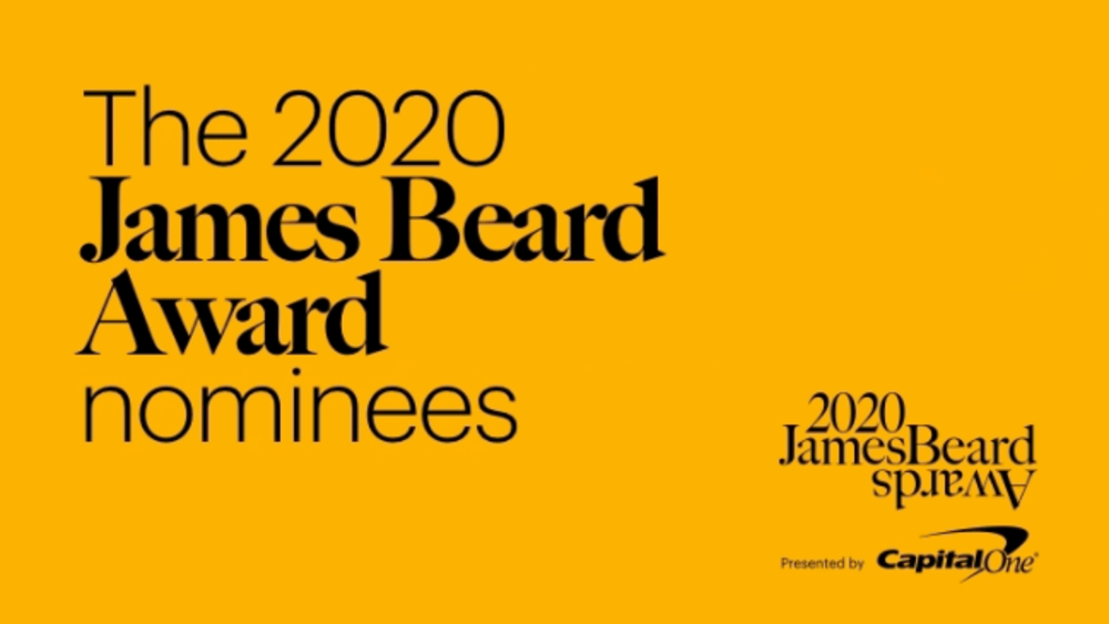 ICYMI: James Beard Foundation Award Finalists 2020