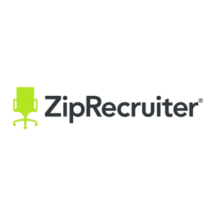ZipRecruiter Logo from Culinary Agents Distribution Partner