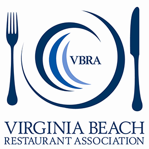 VBRA, VBA, Virginia Beach Restaurant Association Logo from Culinary Agents Distribution Partner