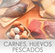 Calor�as de la Carne, Huevos y Pescado