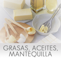 Calor�as de las Grasas, Aceites y Mantequilla