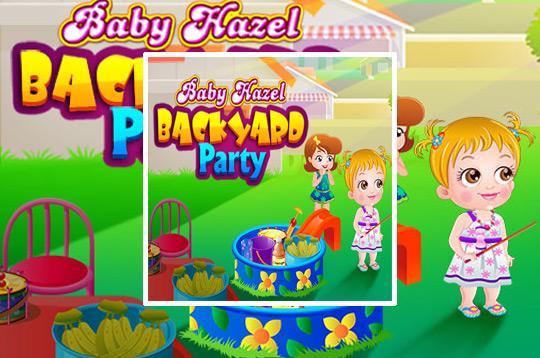 Baby Hazel Backyard Party - Juegos Gratis
