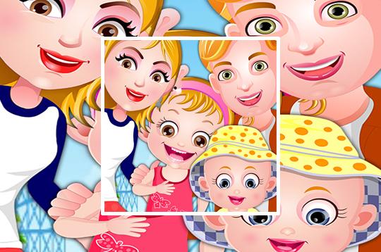 baby hazel family picnic  culga games