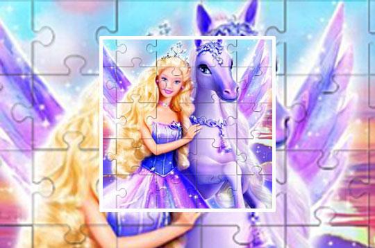 Barbie Princess Puzzle 2