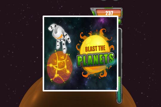 Blast The Planets