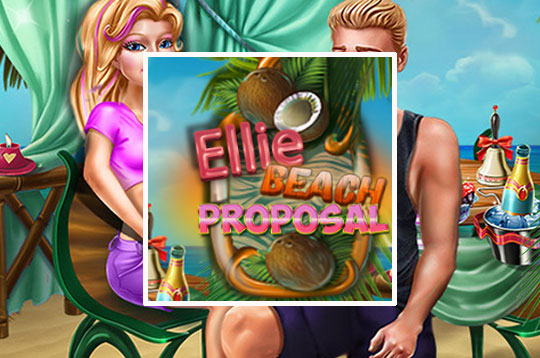 Ellie Beach Proposal