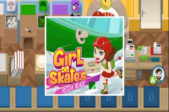 Girl on Skates: Pizza Mania