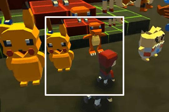 Kogama: Pokémon a Volta dos Mestres
