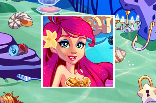Mermaid Princess Underwater Games