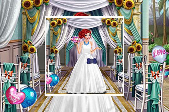 Princess Wedding Dress Up