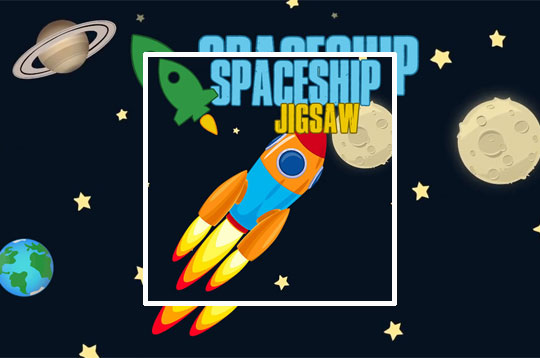 Spaceship Jigsaw
