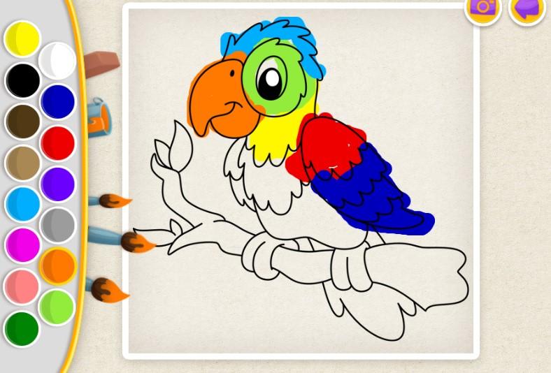 Juegos De Colorear Online: Vamos Pintar Dibujos