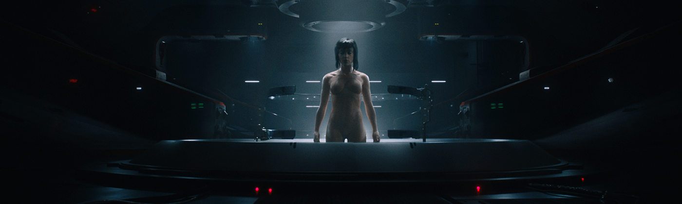 Ghost in the shell head