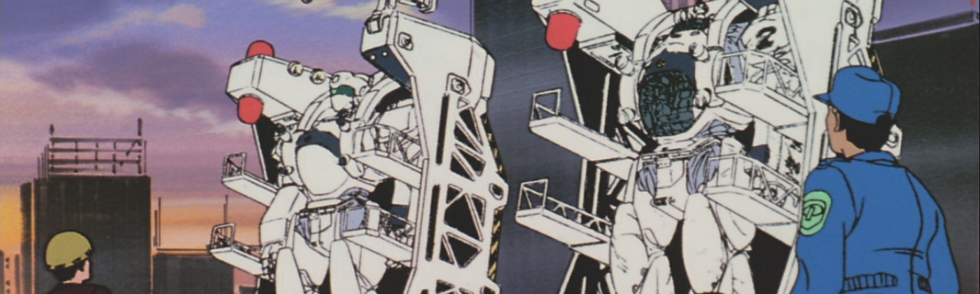 Patlabor tv head