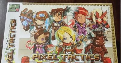 Pixel tactics card