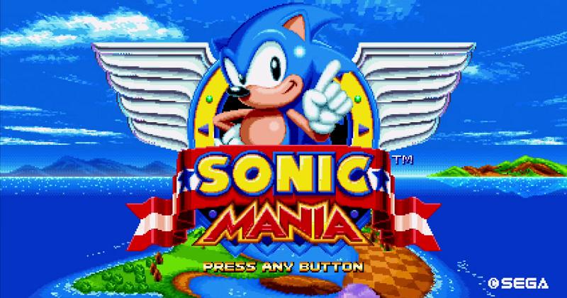 Sonic mania card