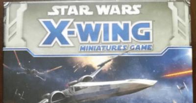 X wing miniature card