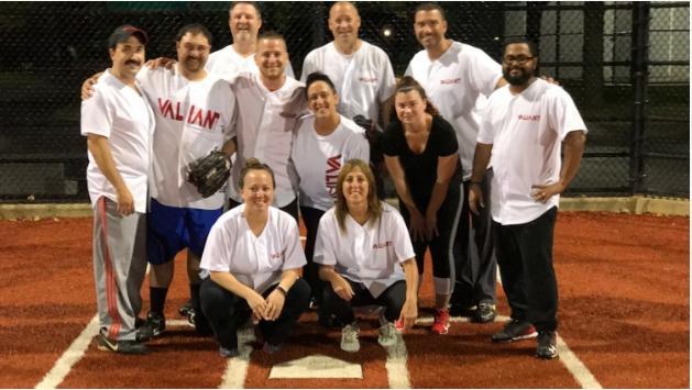 Valiant's Softball Team