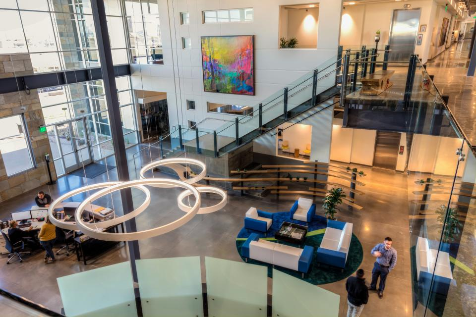 DriveTime's Home Office Lobby in Tempe, AZ