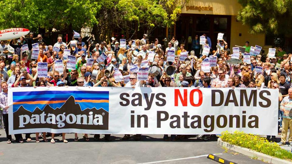 The Activist Company supporting dam removal in Patagonia. Photo by Tim Davis.