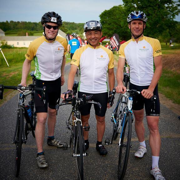 Martin's Point Biking Team