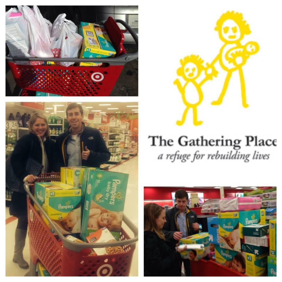 Thanks to another one of CSG's Philanthropic Challenge teams, The Gathering Place received nearly $400 worth of diapers, wipes, bottles, toiletries and food.