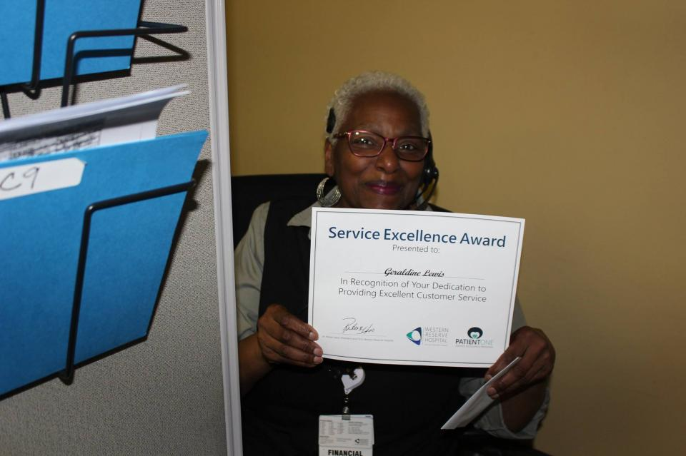 Our Service Excellence awards recognize outstanding employees.