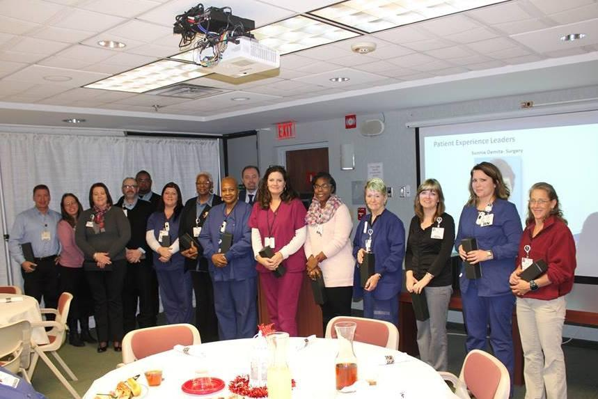Award programs recognize employees for the excellent care they provide each day!