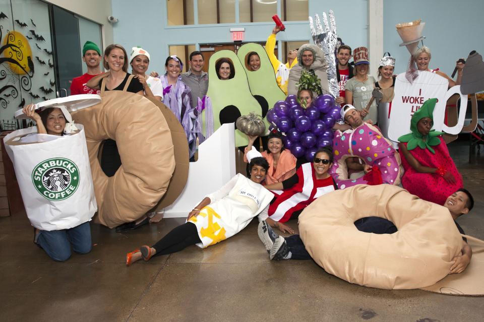 Halloween - Brand Team as Thursday Morning Breakfast