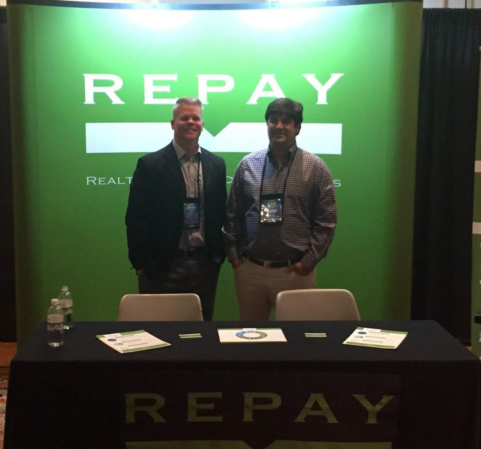 REPAY employees support our industry at a trade show