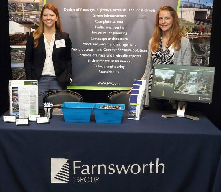 Farnsworth Group sends employees to industry conferences for additional training.
