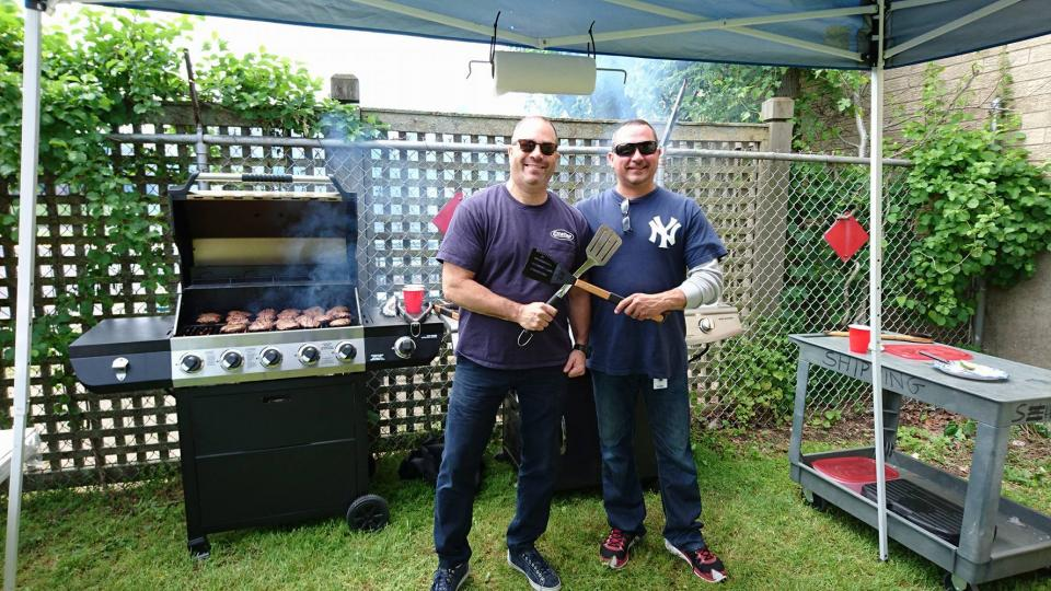 President / Vice President Grilling for Memorial Day BBQ