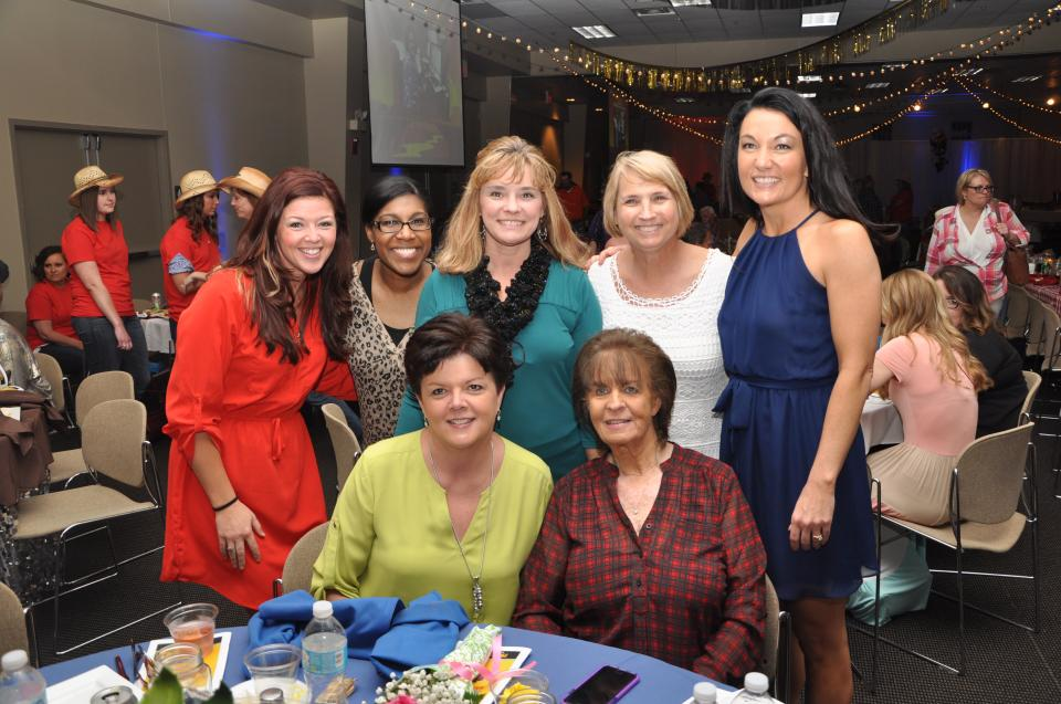 Maternity Employees Celebrating at Awards Banquet