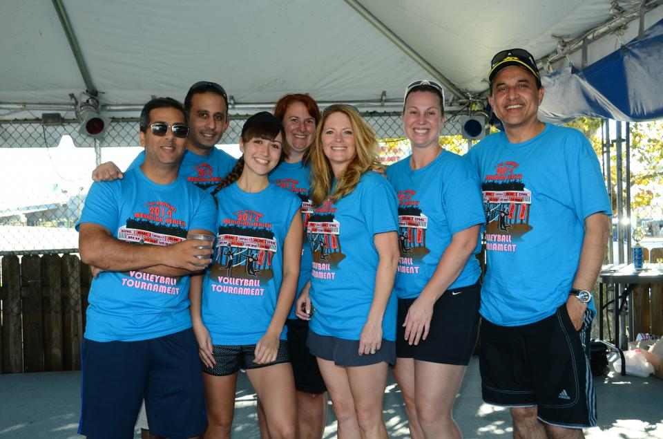 16th Annual Meridian Health Team Member Volleyball Tournament