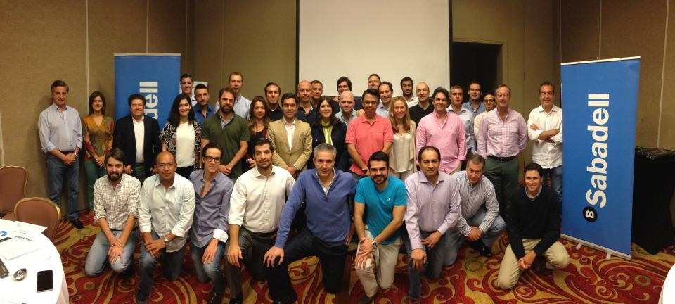 Sabadell Americas Corporate Banking Team at an Off-Site Event