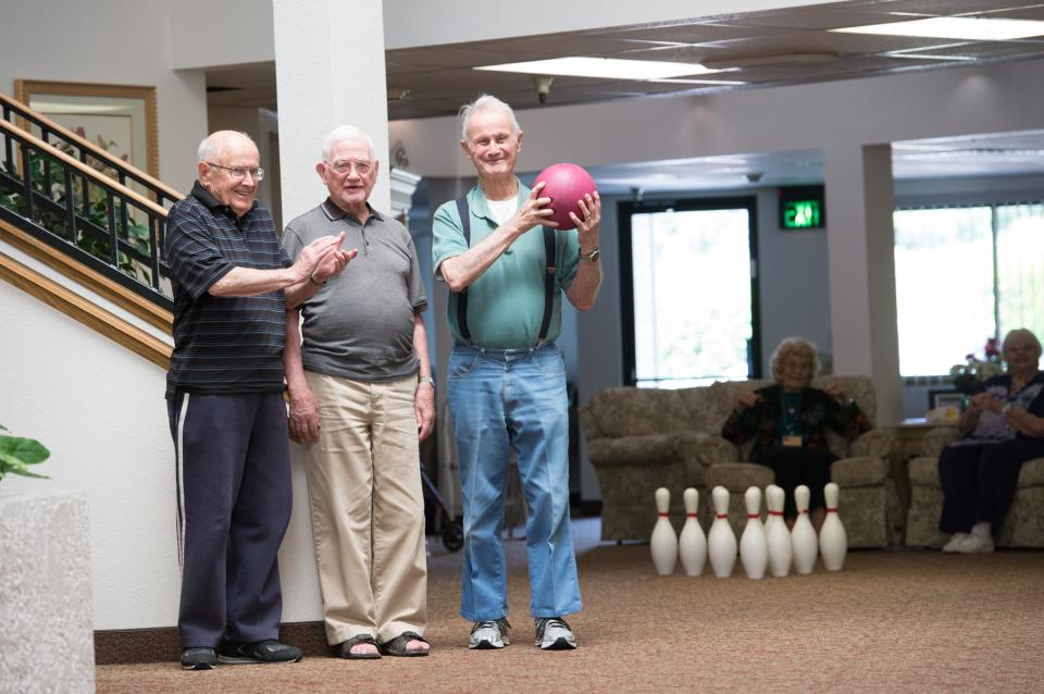 Bowling Team at Community