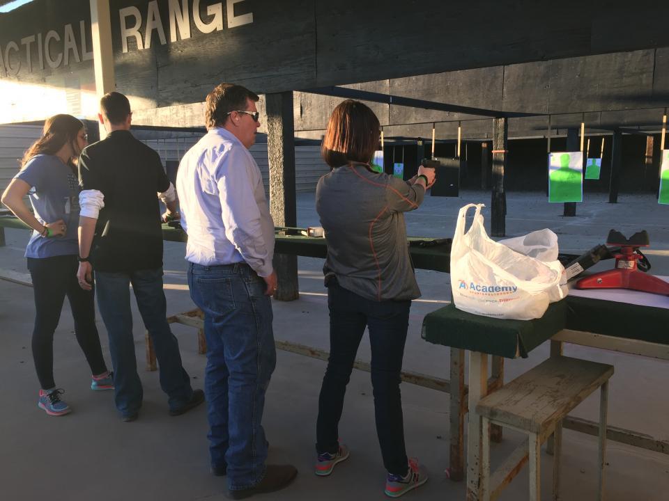 Fun Afternoon at the Gun Range